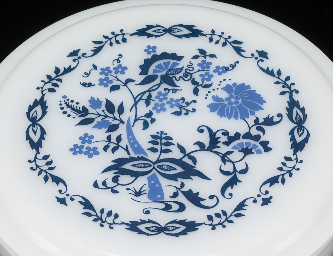Willow Or Blue Floral Pyrex