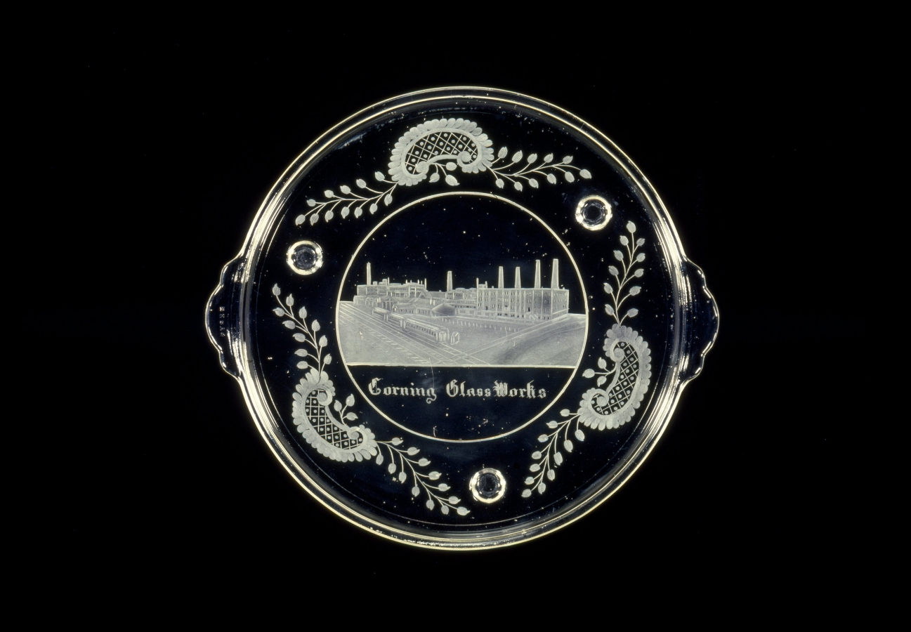 Engraved Pyrex Tray