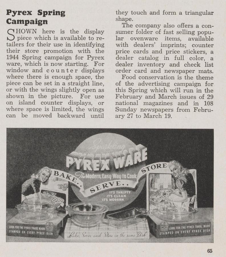 """Pyrex Spring Campaign"""