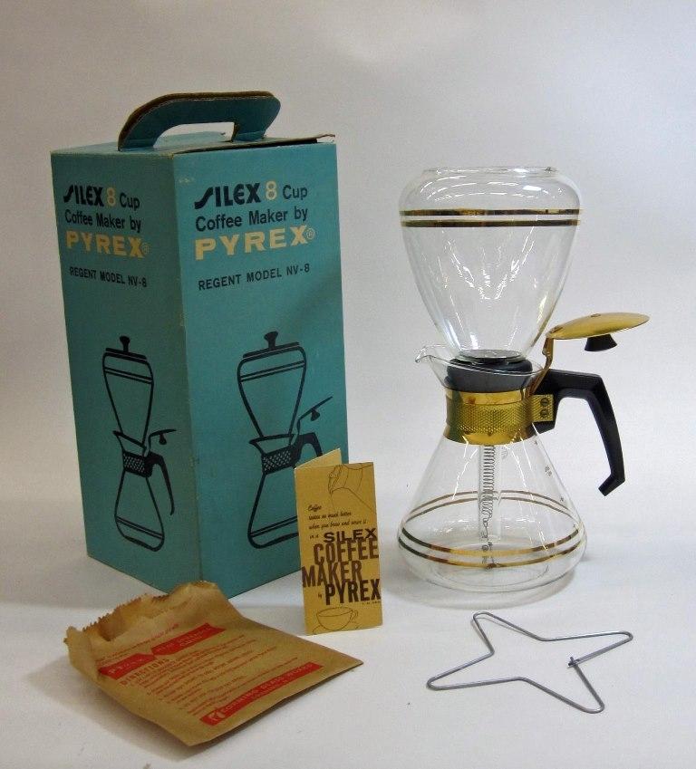 Pyrex Coffee Maker in Original Box