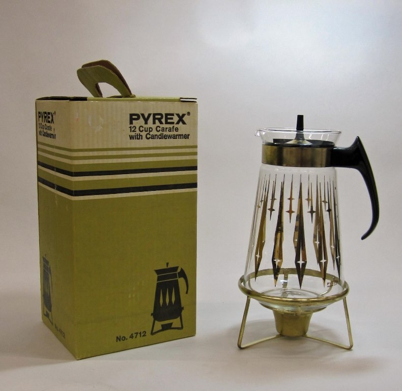 Pyrex Ware Carafe Set in Original Box