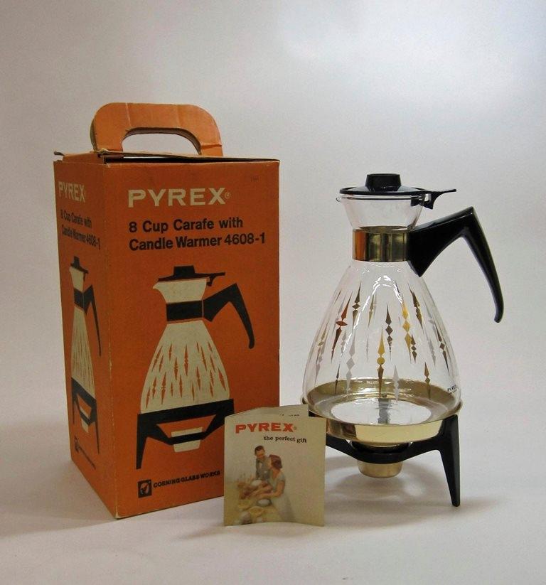 Pyrex Ware Carafe Set in Original Box