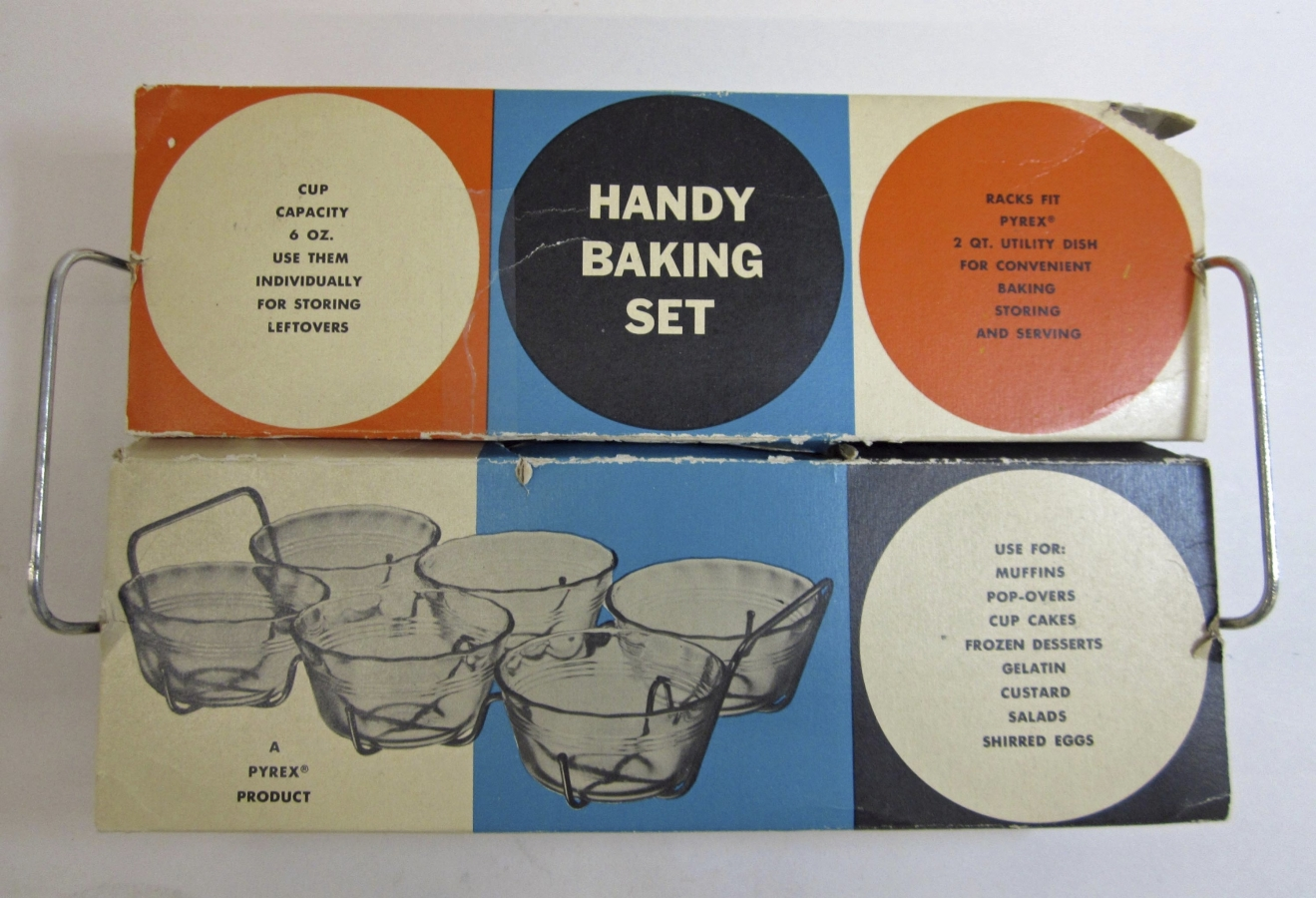 Pyrex Handy Baking Set in Original Packaging