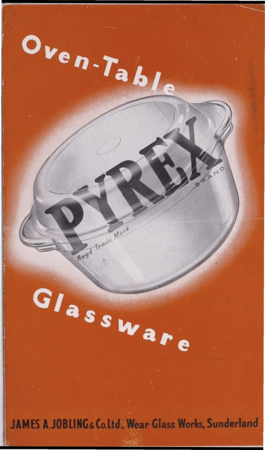 """""""Pyrex: oven-table glassware"""""""