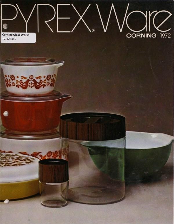 Pyrex ware: Corning 1972