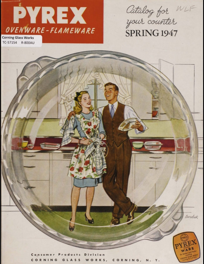 """Pyrex Ovenware-Flameware : catalog for your counter, spring 1947"""