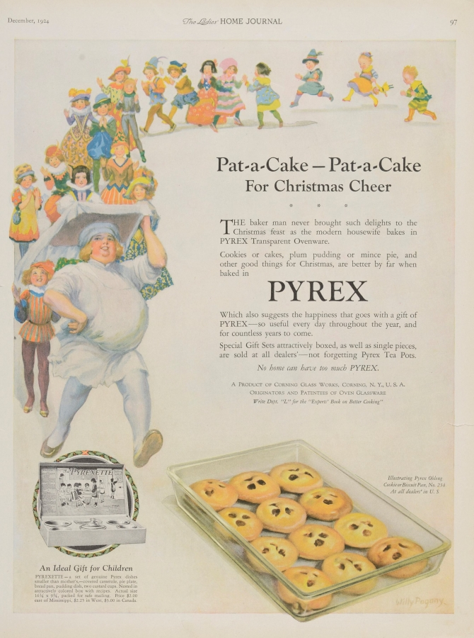 Pat-a-cake, pat-a-cake for Christmas cheer