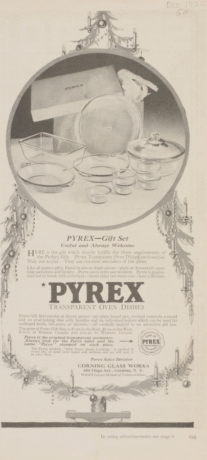 Pyrex gift set: useful and always welcome