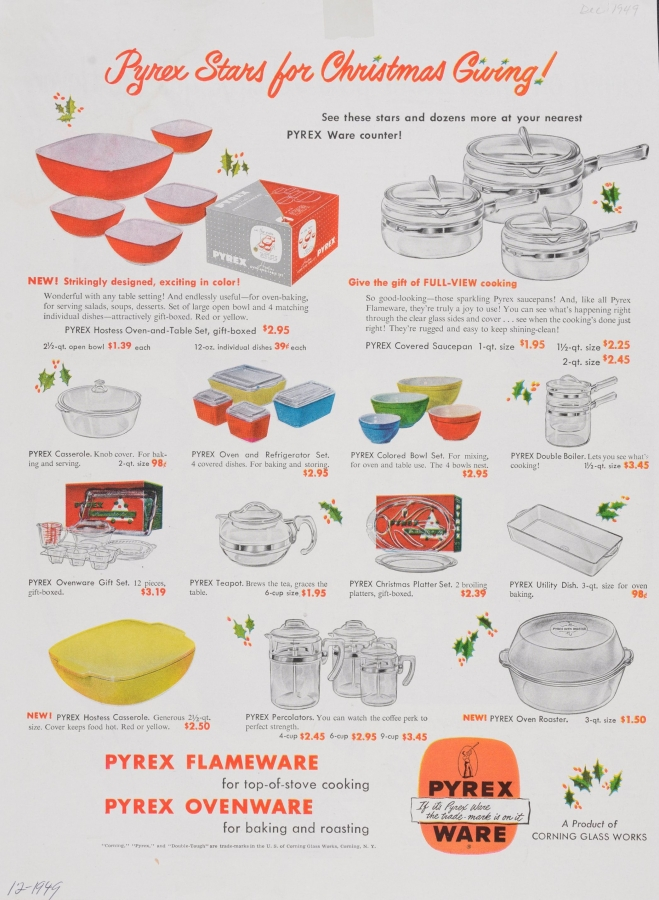 Pyrex stars for Christmas giving!