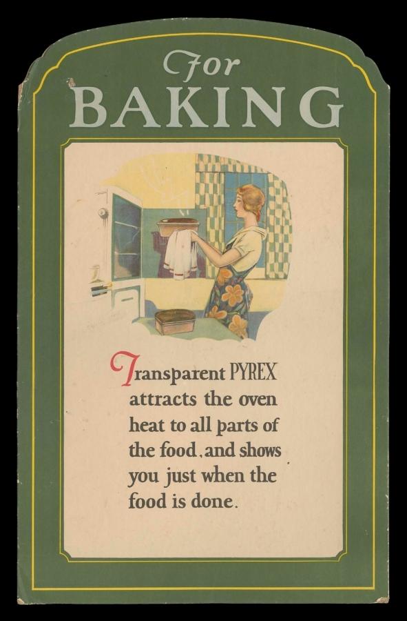 For baking, for serving