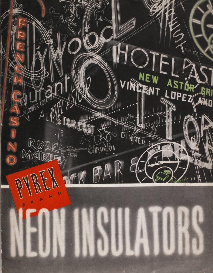 Pyrex brand: neon insulators