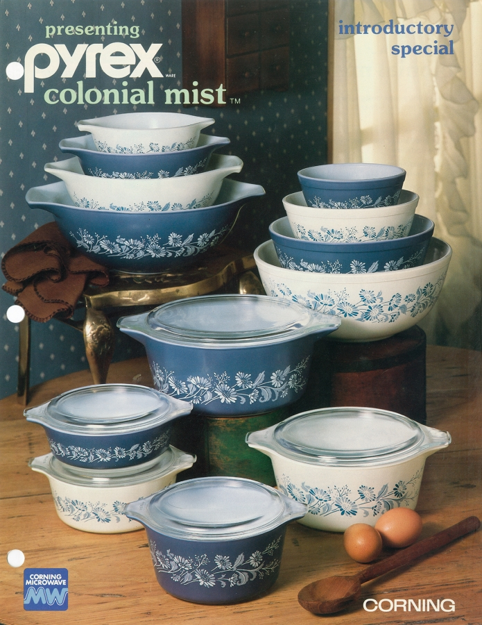 Presenting Pyrex Colonial Mist: introductory special