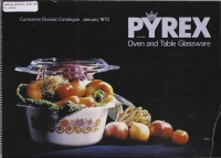 Pyrex: oven and table glassware / James A. Jobling catalog