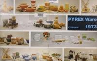 Pyrex ware 1973
