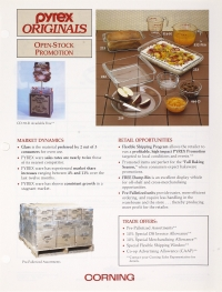 """Pyrex Orignals: open stock promotion"""