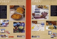 Pyrex pages from Corning Housewares Catalog: Spring 1998.