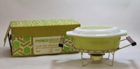 Pyrex 1-1/2 Quart Casserole with Warmer in Original Box