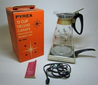 Pyrex 12 Cup Carafe with Electric Warming Tray