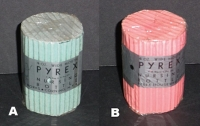 2 Pyrex Nursing Bottles in Original Packaging
