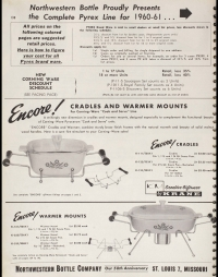 "Page 138 featuring Pyrex from ""Giftware housewares: new 1961 catalog"""
