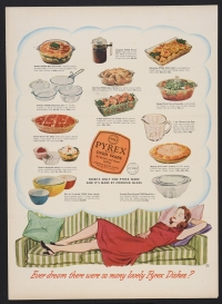 """Ever dream there were so many lovely Pyrex dishes?"""