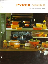 Pyrex ware retail catalog 1968