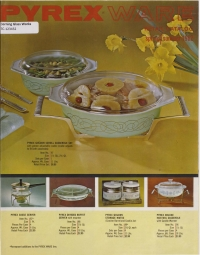 """Pyrex ware retail catalog, spring/summer 1962"""