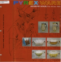 """Pyrex ware distributor catalog, Fall-Winter 1962"""