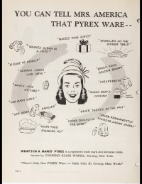 "Page 6 from ""You Pyrex brand ware and Mrs. America"""