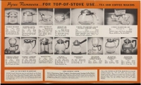 "Flameware page from ""Save up to 1/2 on Pyrex ovenware"""