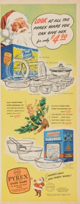 Look at all the Pyrex ware you can give her for only $4.90