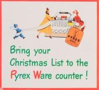 Pyrex Christmas