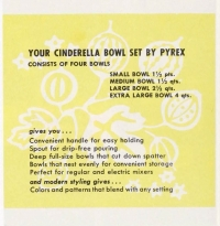 Page 2 from Cinderella bowl set