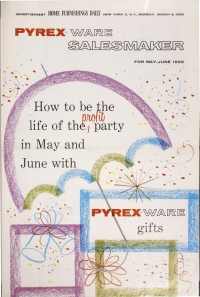 """Pyrex Ware Salesmaker For May-June 1959"""