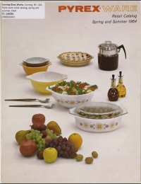 """Pyrex ware retail catalog, spring and summer 1964"""