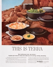 This is Terra Pyrex