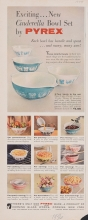 Exciting... New Cinderella Bowl Set by Pyrex