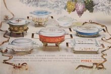 Beautiful, Useful, Always Welcome...Pyrex Gifts