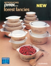 Introducing Pyrex Ware Forest Fancies